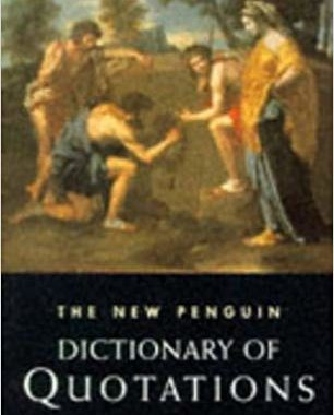 Penguin Dictionary of Quotations review book